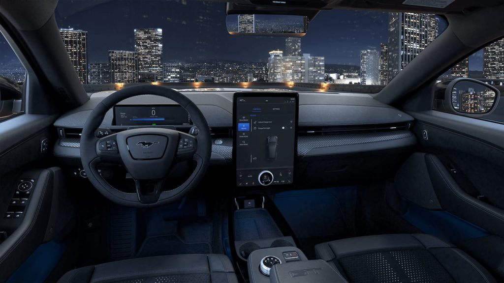 2021 Ford Mustang Mach-E GT Performance Edition interior