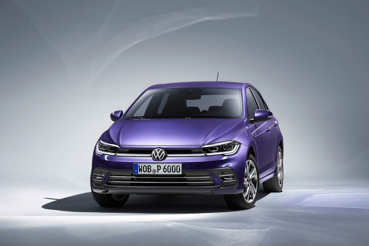 2021 VW Polo facelift front three quarters