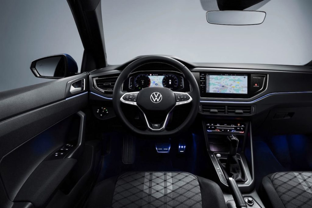 2021 VW Polo facelift interior dashboard driver-side