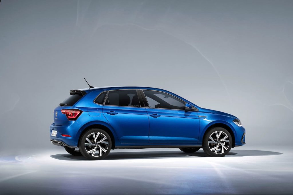 2021 VW Polo facelift profile
