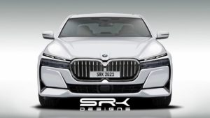 2022 BMW 7 Series front rendering SRK Designs