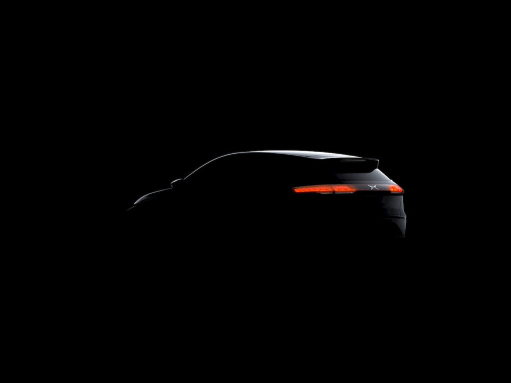 2022 Xpeng G3i rear fascia teaser