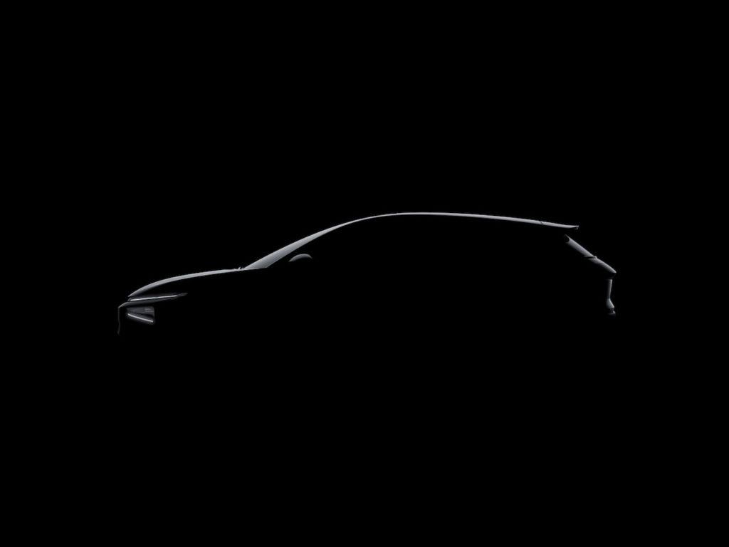 2022 Xpeng G3i side profile teaser