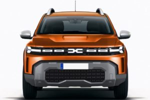 2024 Dacia Duster rendering