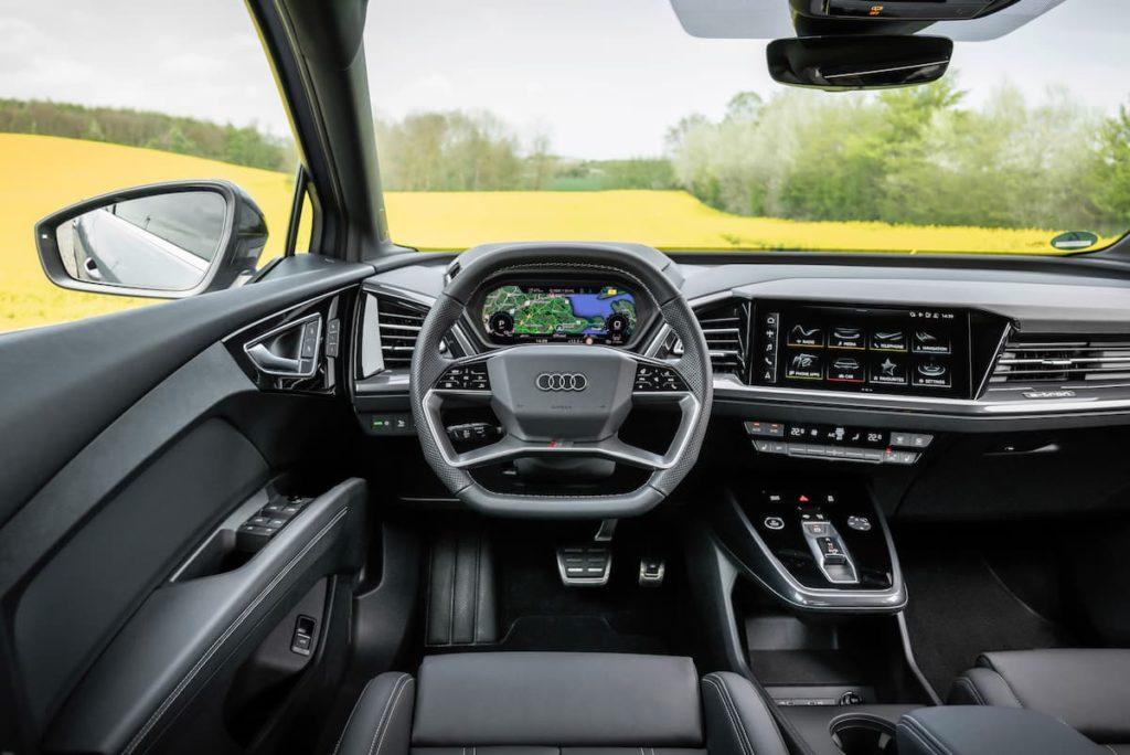 Audi Q4 interior