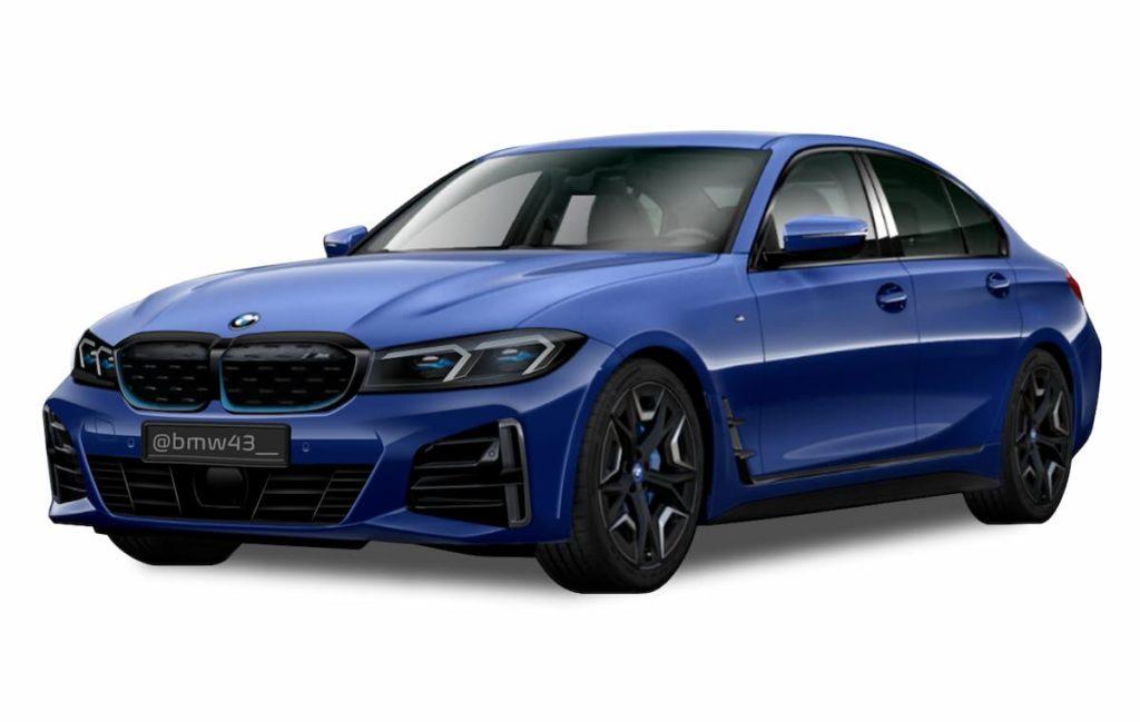 BMW 3 Series Electric or BMW i3 Sedan render