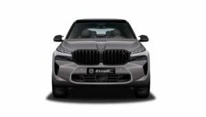 BMW X8 M front rendering