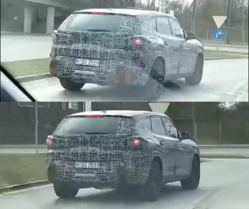 BMW X8 rear