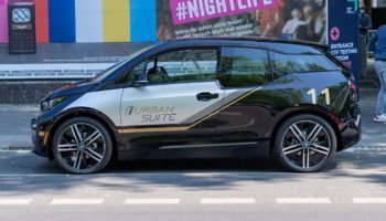 BMW i3 Urban Suite presented at Greentech Festival