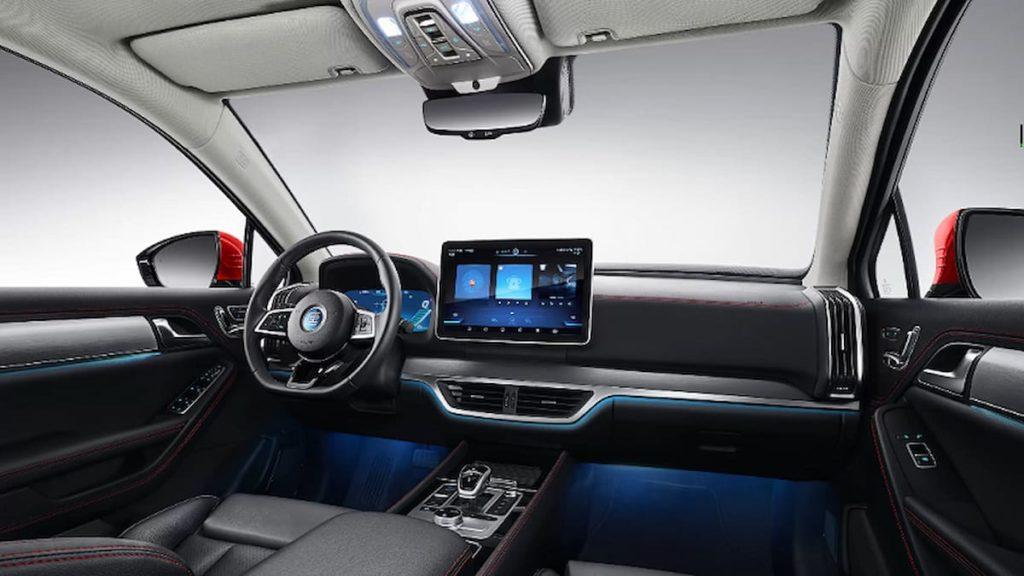 BYD Tang EV interior