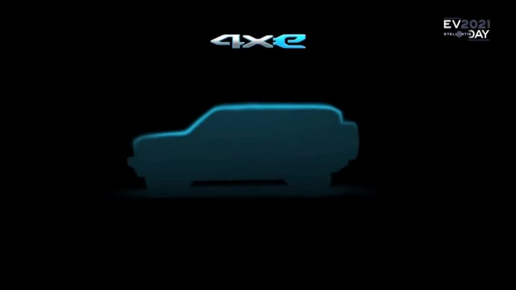 Jeep electric SUV teaser