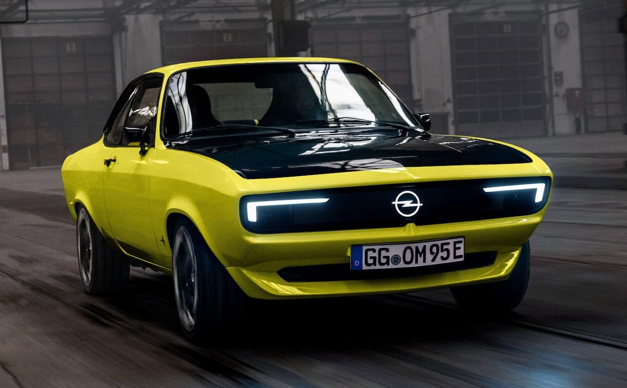 Opel Manta GSe EV