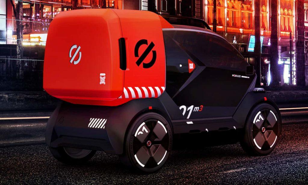 Renault Bento rear