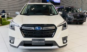 Subaru Forester facelift front