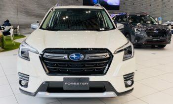 2022 Subaru Forester Hybrid (facelift) revealed in Japan [Update]