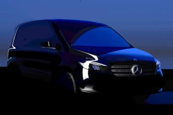 Mercedes eCitan to become the T-Class' commercial cousin [Update]