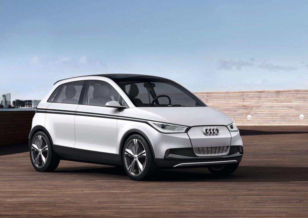 Audi A2 concept 2011 front three quarters