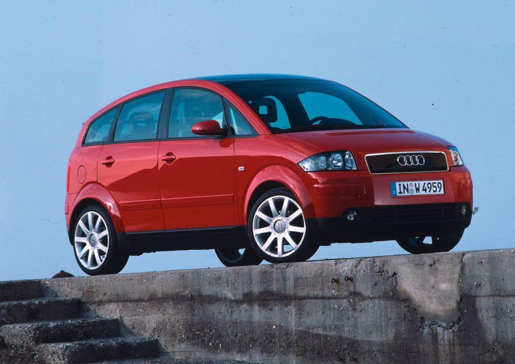 Audi A2 front three quarters