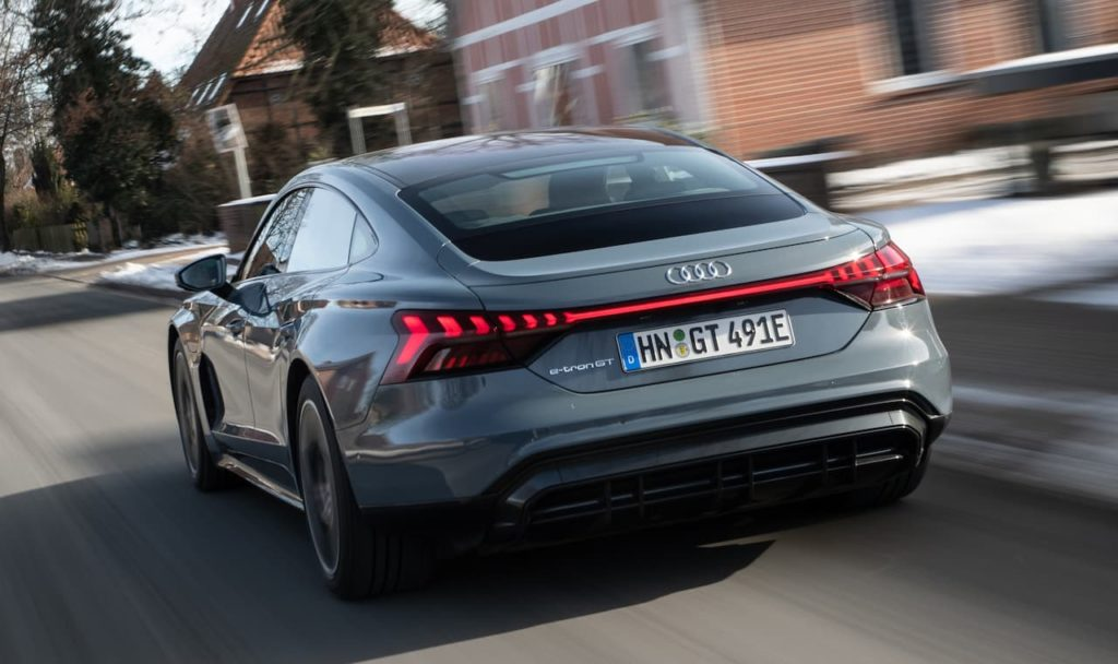Audi e-tron GT rear
