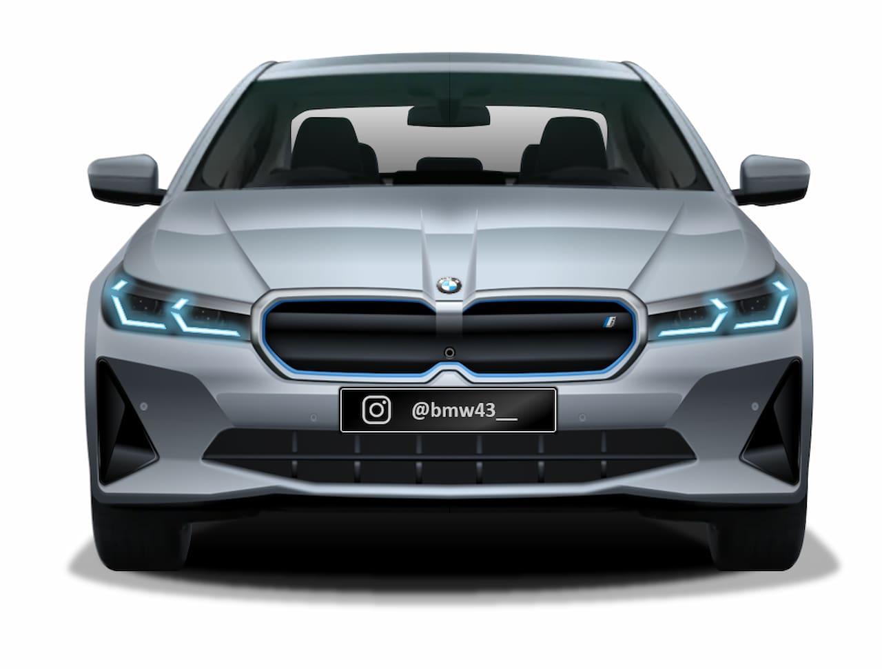 BMW i5 front rendering