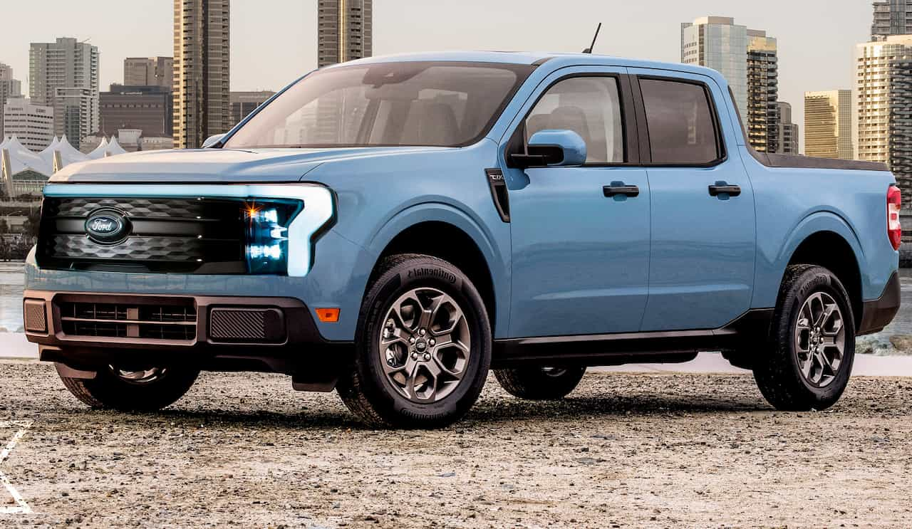 Ford Maverick electric render
