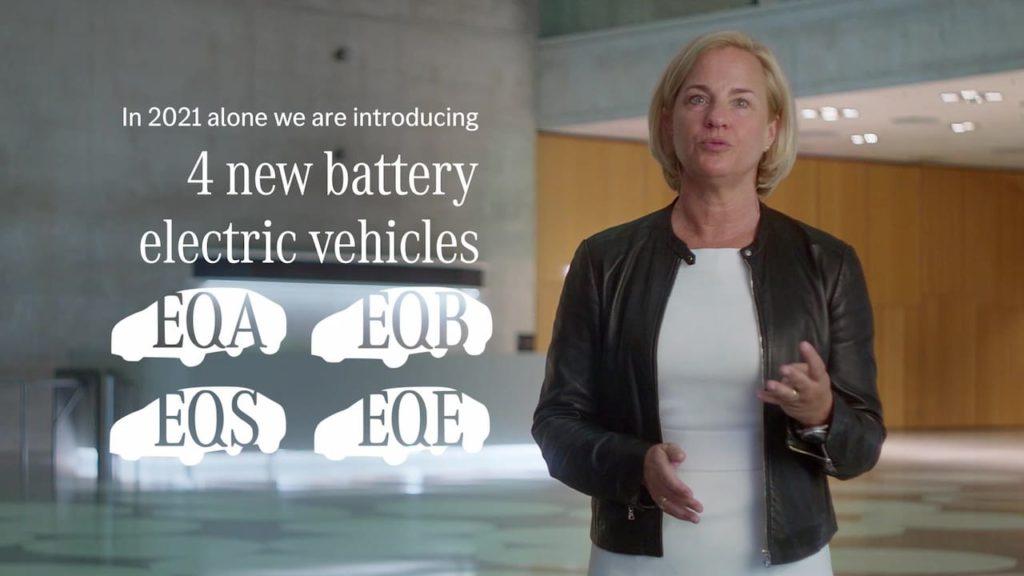 Mercedes EQ EV launches 2021