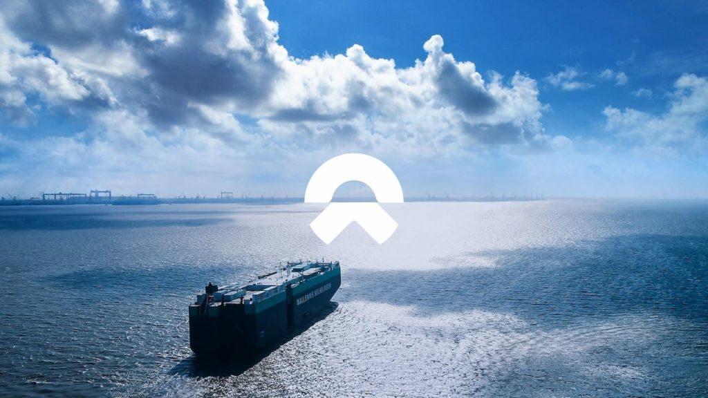 Nio ES8 Norway ship