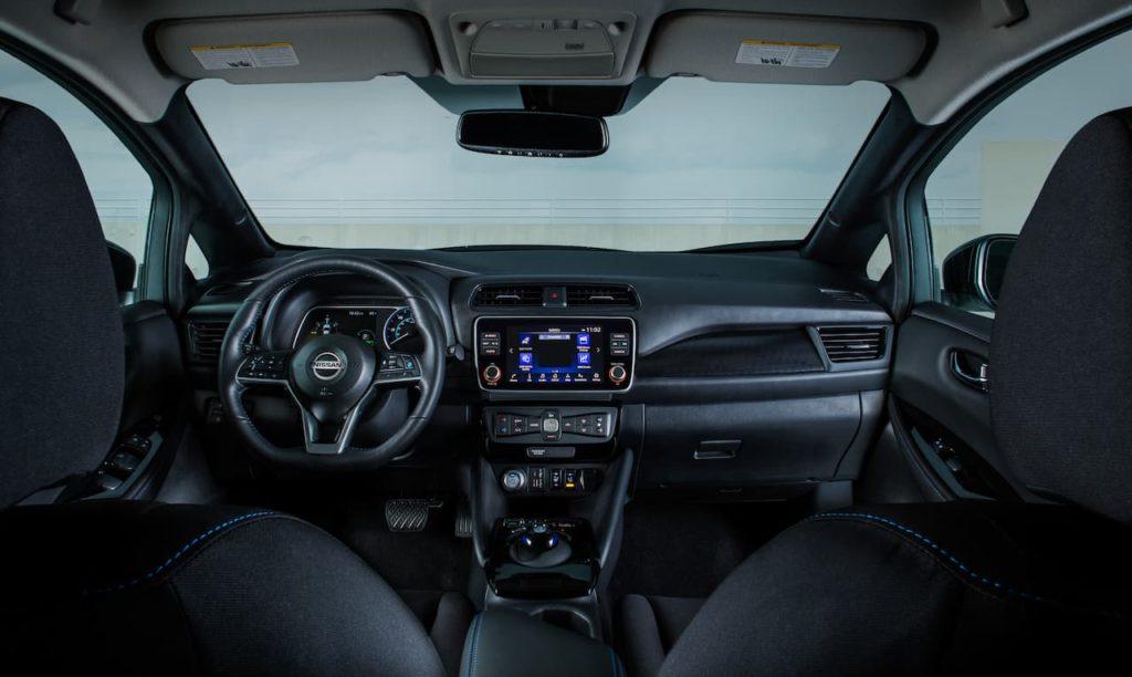 Nissan Leaf cabin