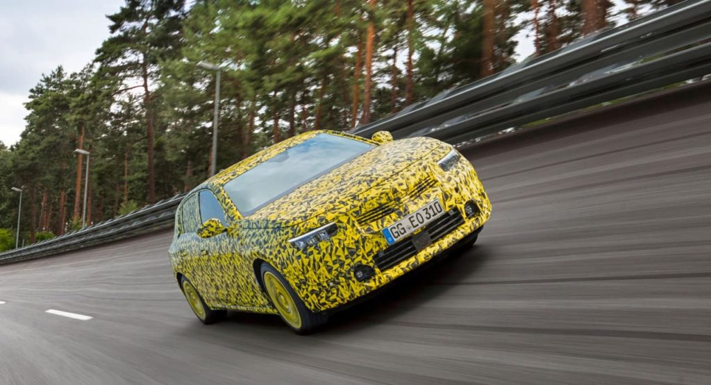 Opel Astra comfort testing
