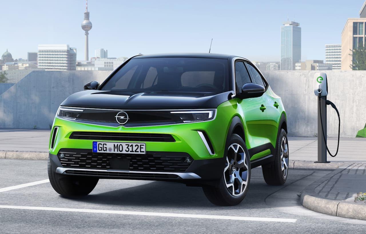Opel Mokka-e front
