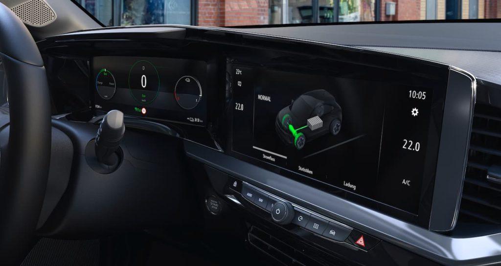 Opel Mokka-e interior