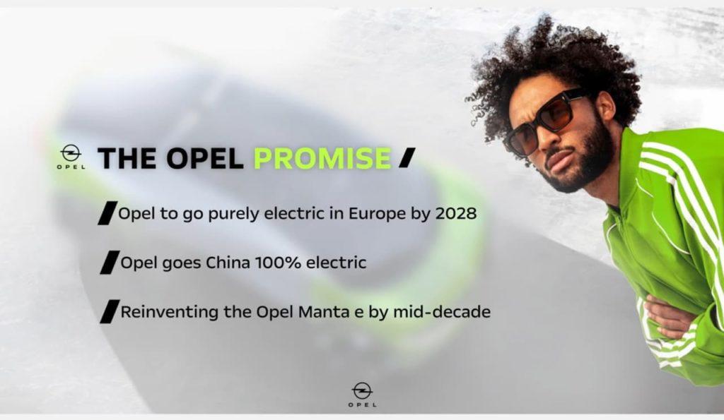 Opel electrification strategy