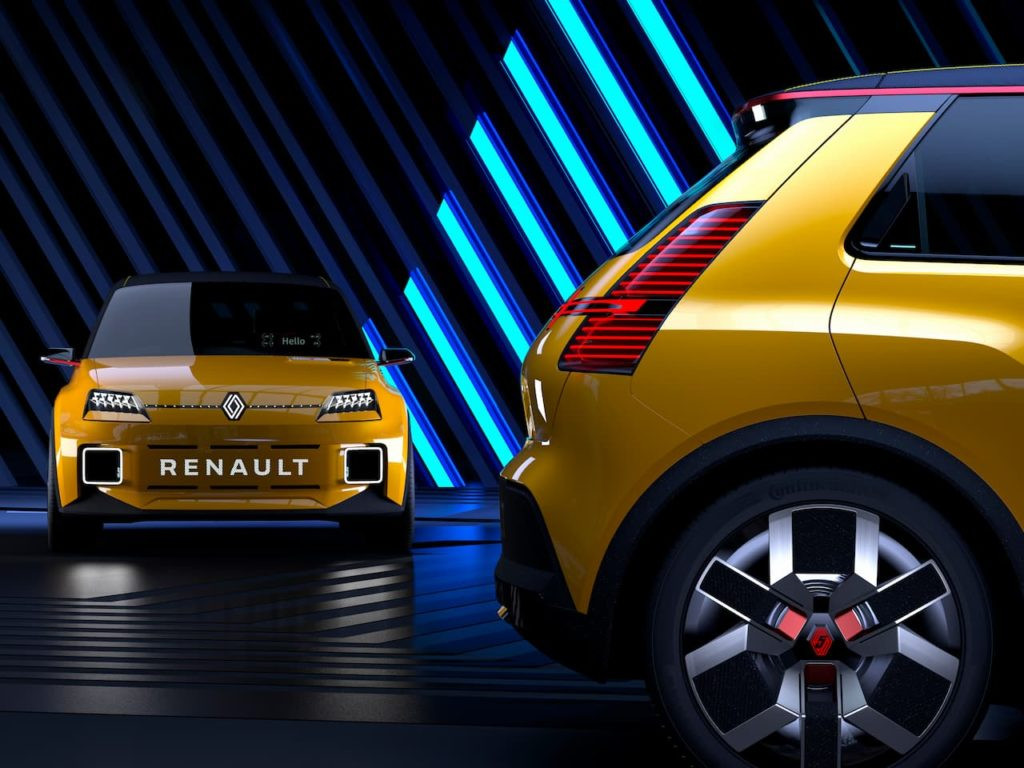 Renault 5 front and rear side