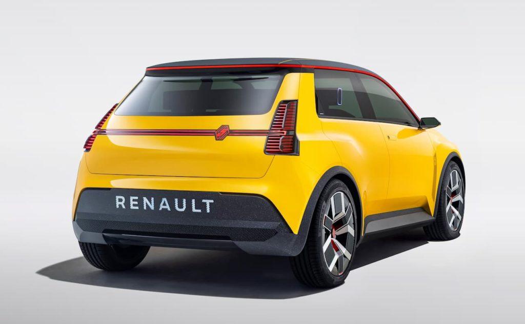 Renault 5 rear three quarter