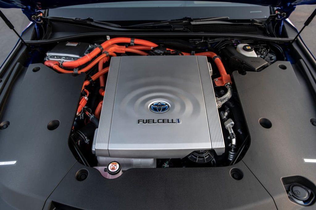 Toyota Mirai powertrain