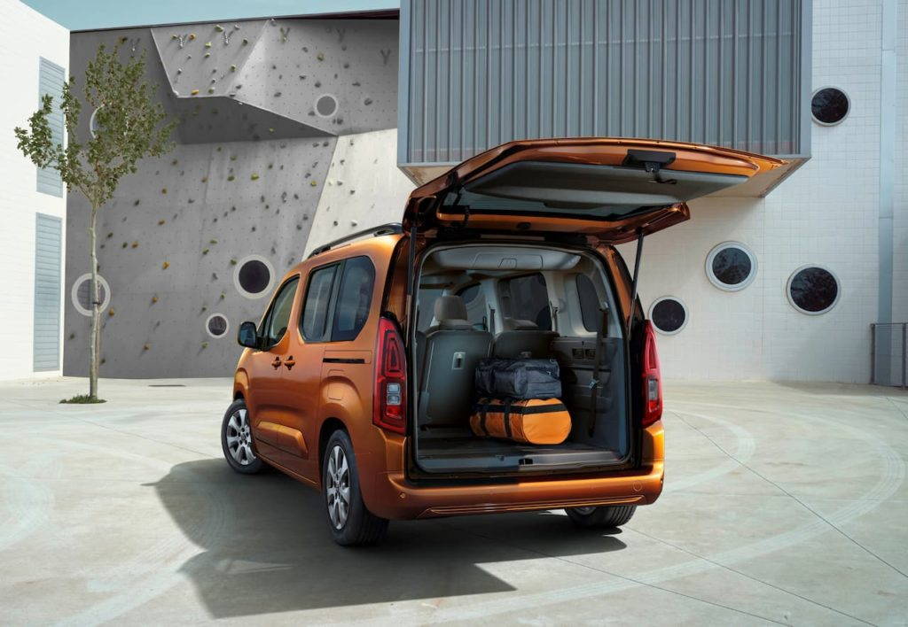 Vauxhall Combo-e Life boot space