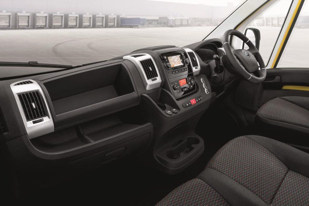 Vauxhall Movano-e cabin