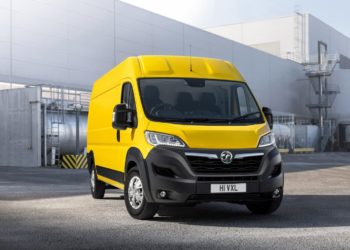 Vauxhall Movano Electric unveiled in the UK; launch this summer