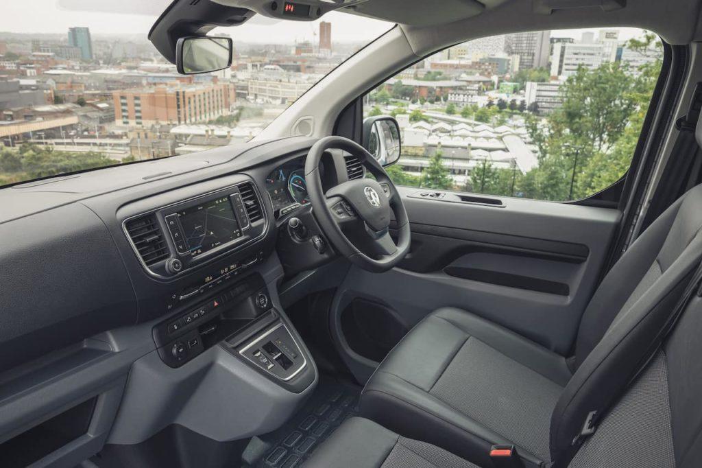 Vauxhall Vivaro-e interior