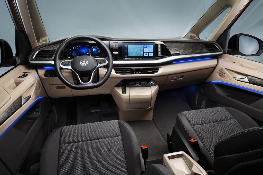 VW Multivan cabin