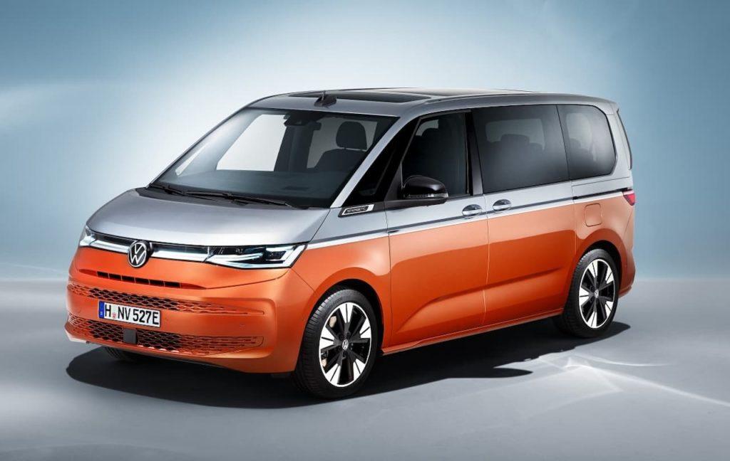 VW Multivan front three quarter