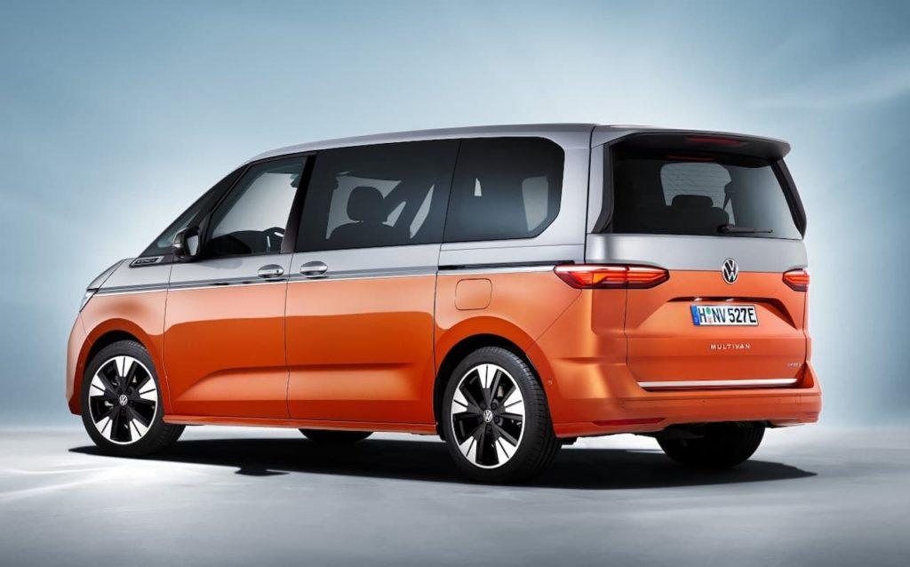 Volkswagen Multivan rear three quarter